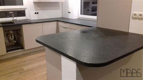 Meckenheim Aracus Black Granit Arbeitsplatten