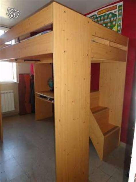 si鑒e auto enfants lit mezzanine avec bureau escalier meubles décoration lits d 39 enfant à septèmes les vallons reference meu lit lit annonce gratuite