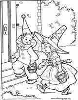 Halloween Coloring Colouring Printable Drawings Going Sheets Drawing Birthday Costumes Entertainmentmesh Amazing Adult Children Visit Parties Popular sketch template