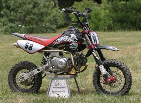 Honda Crf Pit Bike Review Motoriding Blog