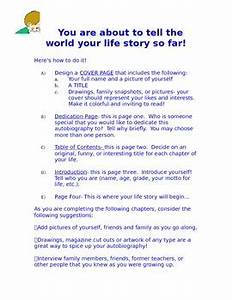 Outline Autobiography My Life Story 25 Chapter Outline For Writing An