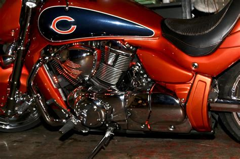 Chicago Bears Custom Harley Davidson Hoj Poj Cycles