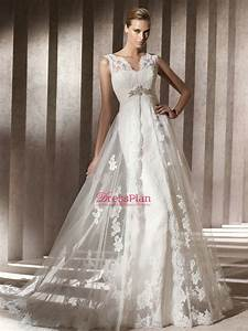 the reasons to choose empire waist wedding dresses With empire style wedding dress