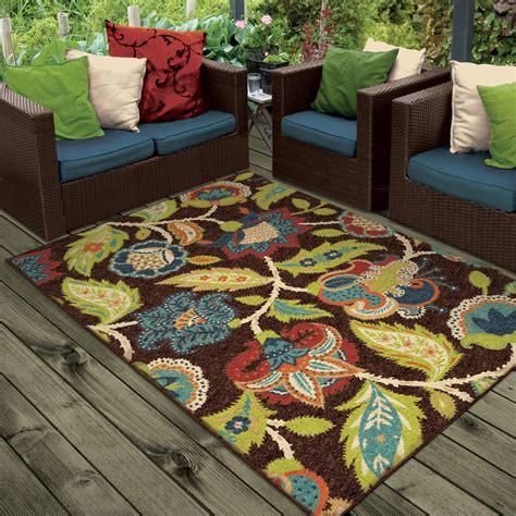 indoor outdoor area rugs threadbind orwell brown indoor outdoor area rug reviews