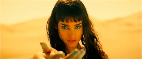 actress who starred in the mummy the mummy star sofia boutella joins fahrenheit 451