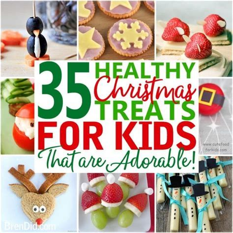 The 35 Best Healthy Christmas Treats for Kids Bren Did