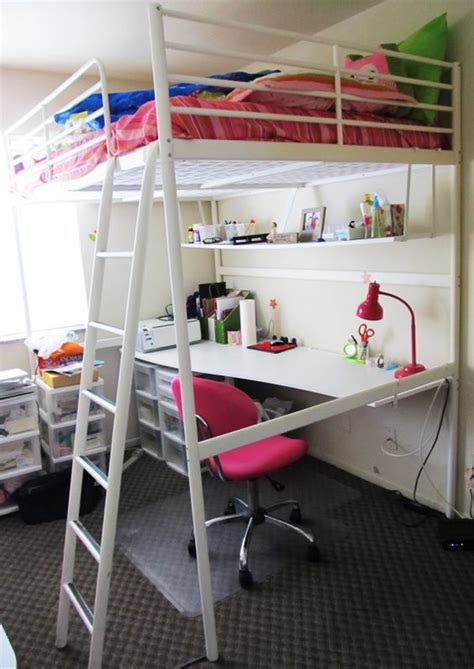 Ikea Bunk Bed With Desk And Shelf by 10 Astonishing Ikea Loft Bed Desk Image Ideas Loft Beds