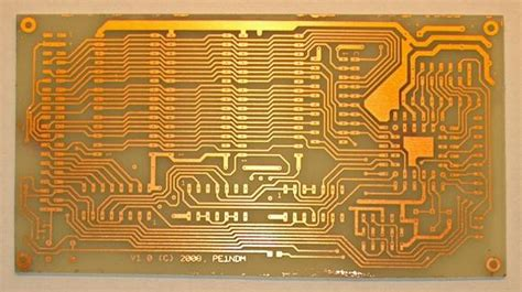 Pcb Board Etching Industrial Electronic Components