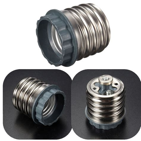 e40 to e27 base l holder led light bulb adapter