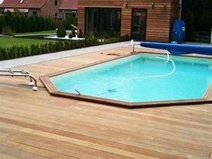 Bois Pour Terrasse Piscine : prix terrasse bois piscine hors sol construction ~ Edinachiropracticcenter.com Idées de Décoration