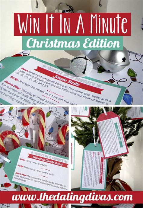 win it in a minute christmas edition pictures photos and
