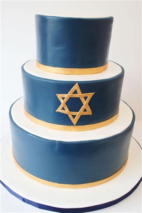 bar mttzvah cakes nj star  david custom cakes