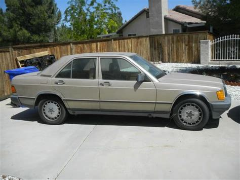 auto repair manual online 1985 mercedes benz w201 lane departure warning find used 1985 mercedes benz 190e 2 3 sedan 4 door 2 3l in apple valley california united