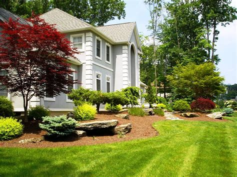 landscape ideas for front of house low maintenance low maintenance landscaping ideas for front yard jen joes design small front yard