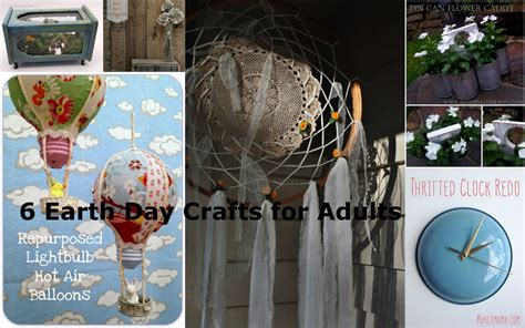 day crafts for adults fabulous friday 6 earth day crafts for adults vicki o dell the creative goddess
