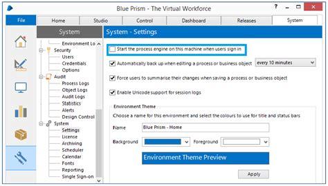 blue prism installationserver setup  blue prism