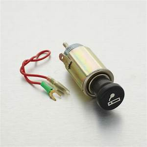 Universal 12v Dc Lighted Cigarette Lighter Power Outlet 1