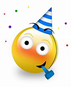 10 Party Smiley Emoticon Images - Party Smiley-Face ...