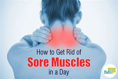 How To Get Rid Of Sore Muscles In A Day  Fab How