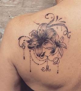 Fleur Lotus Tatouage : fleur de lotus tatouage nuque cochese tattoo ~ Mglfilm.com Idées de Décoration