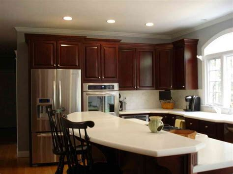 Kitchen Paint Colors With Cherry Cabinets by Brighter Kitchen Paint Colors With Cherry Cabinets