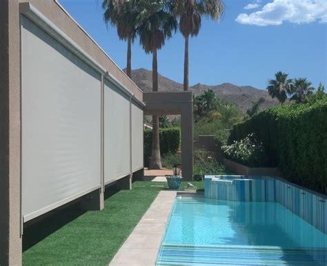 drop screen  valley patios custom patio covers