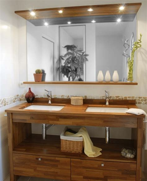 idees deco cuisine beautiful meuble salle de bain bois castorama contemporary bikeparty us bikeparty us