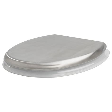 Ikea Wc Sitz by Grundtal Toilet Seat Stainless Steel Clear