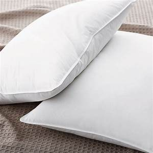 Best down pillow the company store for Best down pillows for stomach sleepers
