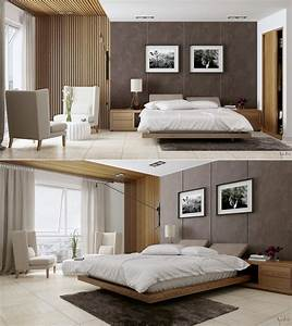 Stylish bedroom designs with beautiful creative details for Stylish modern bedrooms
