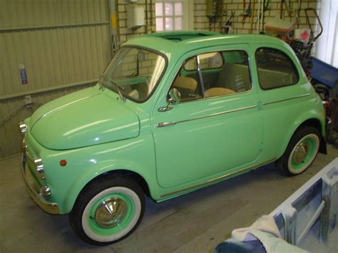 I Sat In A Fiat 500 Yesterday