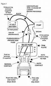 automatic bilge pump wiring diagram imageresizertoolcom With electric bilge pump wiring diagram