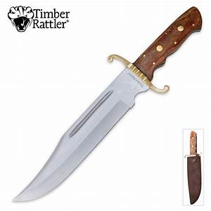 Timber Rattler El Paso Bowie Knife BUDK com - Knives