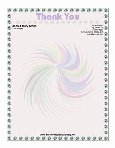 9 best images of printable christmas thank you stationery With thank you letter stationery