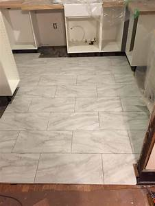 How to lay luxury vinyl tile flooring lvt a feature in for How to install lvt flooring