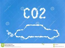 CO2 car emissions stock illustration Illustration of