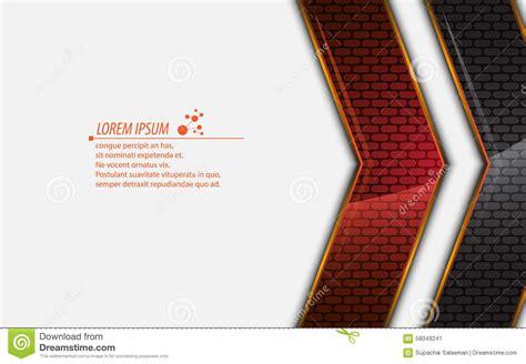 vector abstract metallic rectangle modern design