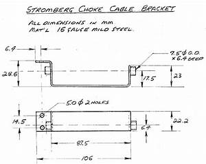 Stromberg Choke Cable Question   Fuel System    Carbs By