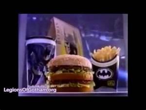Vintage Batman Returns McDonalds Happy Meal Commercials ...