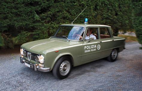 squadra volante 1966 alfa romeo giulia polizia squadra volante