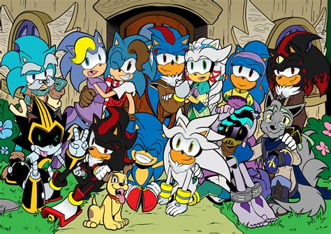 #2933912 / original characters anthro sonic sonic the ...