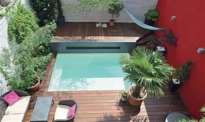 mini piscine enterree urbaine petite taille caron With piscine de petite taille