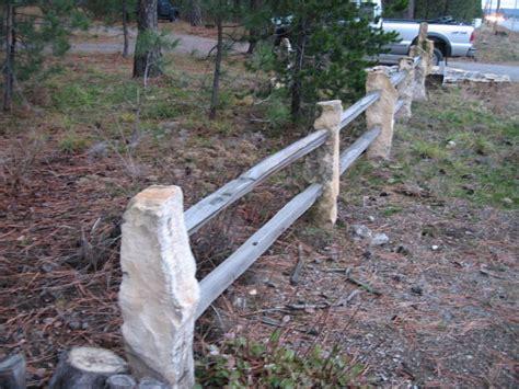 limestone historical fence posts  bedrock landscape