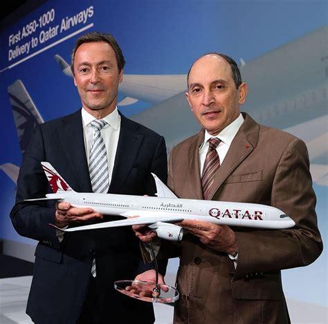 Qatar Airways Gets World's First Airbus A350-1000