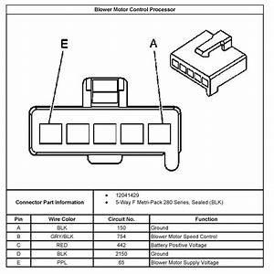 7 Wire Blower Motor Resistor Harness Diagram