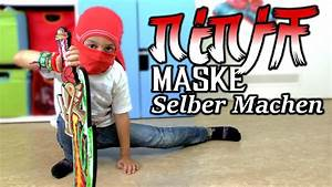 Selber Videos Machen : ninja maske selber machen youtube ~ Watch28wear.com Haus und Dekorationen