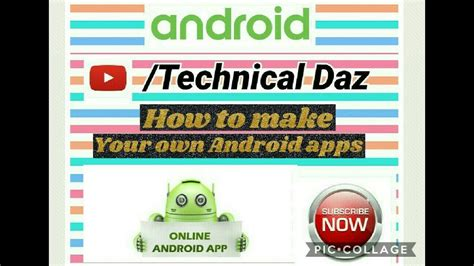 How To Create Ur Own Android App