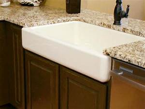 apron front kitchen sink how tos diy With 6 inch apron front sink