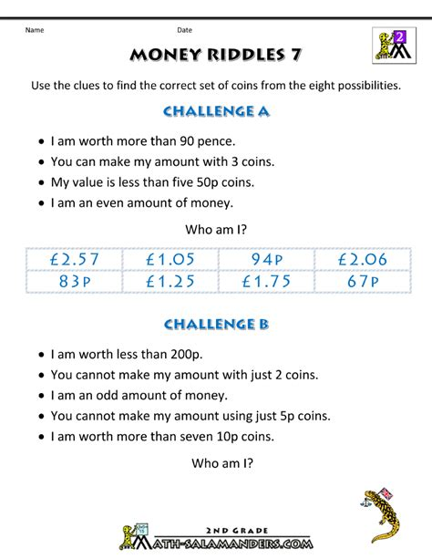 money worksheets grade 7 math money worksheets for grade 7 math best free