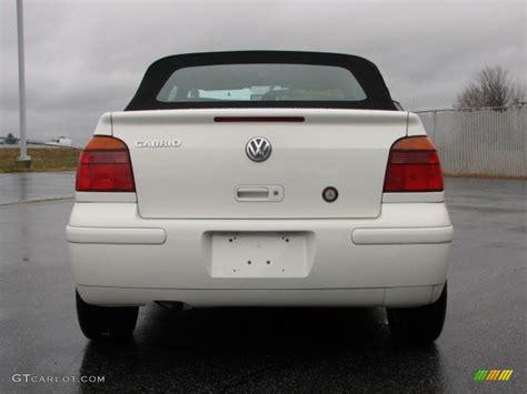 volkswagen cabrio cool 2001 cool white volkswagen cabrio glx 40820878 photo 4
